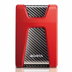 Hard Disk Portabil Adata Durable HD650, 1TB, USB 3.1, 2.5inch, Red