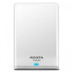 Hard disk portabil ADATA HV620S Slim 1TB, USB 3.1, 2.5 inch, White