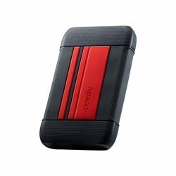 Hard Disk Portabil Apacer AC633, 1TB, 2.5inch, Red-Black