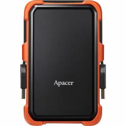 Hard disk Portabil Apacer Military-Grade AC630, 1TB, USB 3.1, 2.5 inch, Orange