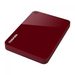 Hard Disk portabil Toshiba Canvio Advance Series, 1TB, USB 3.0, 2.5inch, Red