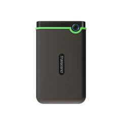 Hard Disk Portabil Transcend StoreJet 25M3S Slim 500GB, USB 3.1, 2.5inch, Iron Gray