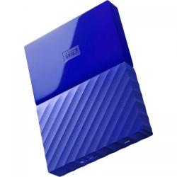 Hard disk Portabil Western Digital My Passport New 1TB, Blue, 2.5inch