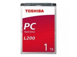 Hard Disk Toshiba L200 1TB, SATA, 128MB, 2.5inch, Bulk