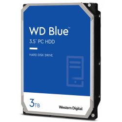 Hard Disk Western Digital Blue 3TB, SATA3, 256MB, 3.5inch, Bulk
