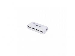 Hub Logilink UA0086, 4 x USB 2.0, White