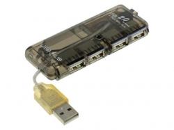Hub USB 2.0 4 porturi, negru HUB4M-BK-BU