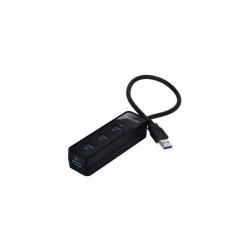 Hub USB Orico W5PH4-U3 PRO USB 3.0 Black