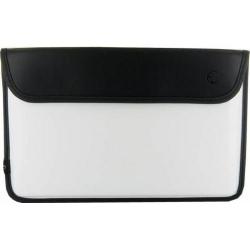 Husa 4World 08577 pentru tableta/ultrabook, 11.6inch, Black-White