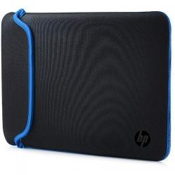 Husa HP Chroma Sleeve pentru Laptop de 15.6 inch, Black-Blue