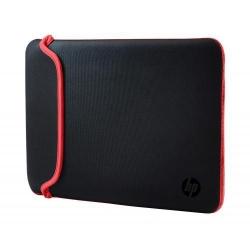 Husa HP Neoprene pentru laptop de 15.6inch, Black-Red