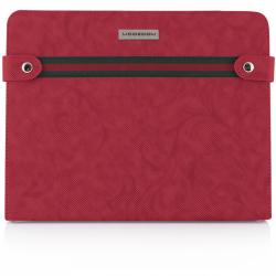 Husa/Stand Modecom California Young pentru Apple iPad 2, iPad 3, Red