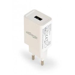 Incarcator Gembird EG-UC2A-03-W, 1x USB, 2.1A, White