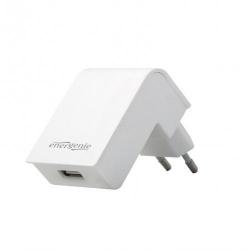Incarcator retea Energenie by Gembird EG-UC2A-02-W, 1x USB, 2.1A, White