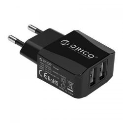Incarcator retea Orico CG10-2U, 2.1A, 2x USB, Black