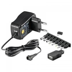 Incarcator retea Techly Universal, 0.6A, 7.2W, Black