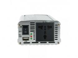 Invertor de la 24V DC la 230V AC, unda sinus modulat putere max: 350W/24V-WE-BL