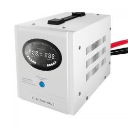 Invertor tensiune Qoltec 53883, DC/AC de la 12V DC la 230V AC, 500W, White