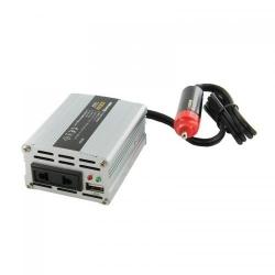 Invertor Tensiune Whitenergy 06574 DC/AC de la 12V DC la 230V AC 100W, USB, mini
