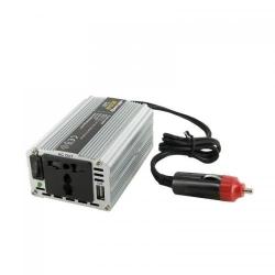 Invertor Tensiune Whitenergy 06577 DC/AC de la 12V DC la 230V AC 200W, USB