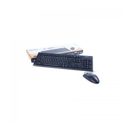 Kit A4Tech KR-8520D - Tastatura KR-85, USB, Black + Mouse Optic OP-620D, USB, Black