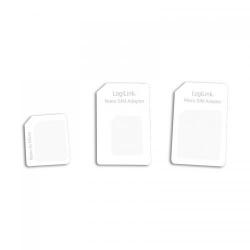 Kit adaptoare LogiLink SIM de la nano la micro, nano la mini si micro la mini