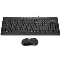 Kit Gigabyte GK-KM6150V2 - Tastatura, USB, Black + Mouse, USB, Black