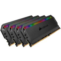 Kit memorie Corsair Dominator Platinum RGB 32GB, DDR4-3600MHz, CL18, Quad Channel