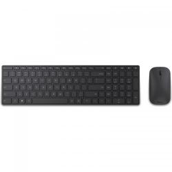 Kit Wireless Microsoft Designer Desktop - Tastatura, Bluetooth, Black + Mouse BlueTrack, Bluetooth, Black