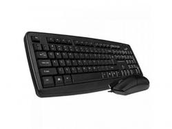 Kit Genius KM130 - Tastatura, USB, Black + Mouse Optic, USB, Black