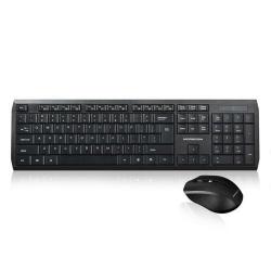 Kit Wireless Modecom MC-7200 - Tastatura, USB, Black + Mouse Optic, USB, Black