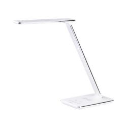 Lampa pentru birou Tracer Lumeria, USB + Incarcator Wireless