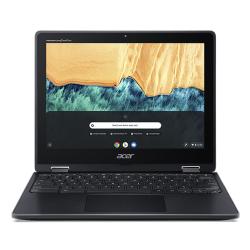 Laptop 2-in-1 Acer Chromebook Spin 512 R851TN-C9GG, Intel Celeron Dual Core N4120, 12inch Touch, RAM 4GB, eMMC 64GB, Intel UHD Graphics 600, Chrome OS, Shale Black