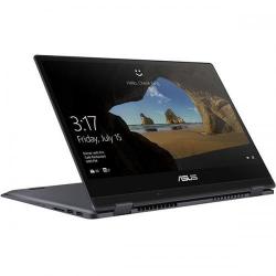 Laptop 2-in-1 Asus VivoBook Flip TP412UA-EC047T, Intel Core i5-8250U, 14inch Touch, RAM 8GB, SSD 256GB, Intel UHD Graphics 620, Windows 10, Grey