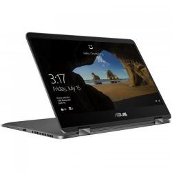 Laptop 2-in-1 ASUS ZenBook Flip 14 UX461FA-E1035T, Intel Core i5-8265U, 14inch Touch, RAM 8GB, SSD 256GB, Intel UHD Graphics 620, Windows 10, Slate Gray