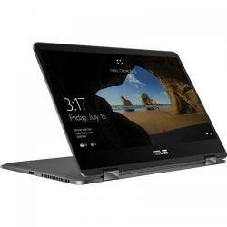 Laptop 2-in-1 ASUS ZenBook Flip UX461UN-E1005T, Intel Core i7-8550U, 14inch Touch, RAM 16GB, SSD 512GB, nVidia GeForce MX150 2GB, Windows 10, Slate Grey
