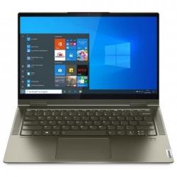Laptop 2-in-1 Lenovo Yoga 7 14ITL5, Intel Core i7-1165G7, 14inch Touch, RAM 16GB, SSD 512GB, Intel Iris Xe Graphics, Windows 10, Dark Moss