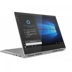 Laptop 2-in-1 Lenovo Yoga 730-13IWL, Intel Core i7-8565U, 13.3inch Touch, RAM 8GB, SSD 512GB, Intel UHD Graphics 620, Windows 10, Platinum Silver