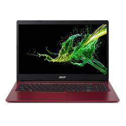 Laptop Acer Aspire 3 A315-34, Intel Celeron Quad Core N4100, 15.6inch, RAM 4GB, SSD 256GB, Intel UHD Graphics 600, Linux, Lava Red