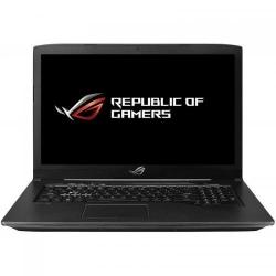 Laptop ASUS ROG GL703GE, Intel Core i7-8750H, 17.3inch, RAM 16GB, HDD 1TB + SSD 256GB, nVidia GeForce GTX 1050 Ti 4GB, FreeDos, Black