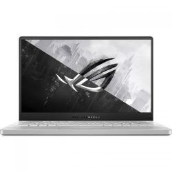 Laptop ASUS ROG Zephyrus G14 GA401IU-HE107T, AMD Ryzen 9 4900HS, 14inch, RAM 16GB, SSD 512GB, nVidia GeForce GTX 1660 Ti 6GB, Windows 10, Moonlight White