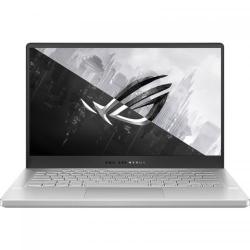 Laptop ASUS ROG Zephyrus G14 GA401QH-BM020, AMD Ryzen 7 5800HS, 14inch, RAM 8GB, SSD 512GB,  Nvidia GeForce GTX 1650 4GB, No OS, Moonlight White