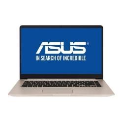 Laptop Asus S510UF-BQ118, Intel Core i5-8250U, 15.6inch, RAM 8GB, HDD 1TB, nVidia GeForce MX130 2GB, Endless OS, Gold