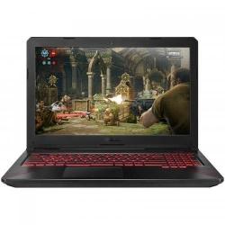 Laptop ASUS TUF FX504GD-E4083, Intel Core i5-8300H, 15.6inch, RAM 8GB, HDD 1TB, nVidia GeForce GTX 1050 4GB, Free Dos, Black
