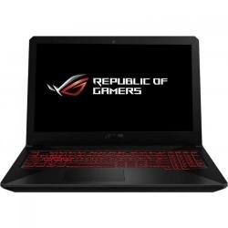 Laptop Asus TUF FX504GE-EN619, Intel Core i7-8750H, 15.6inch, RAM 8GB, HDD 1TB + SSD 256GB, nVidia GeForce GTX 1050 Ti 4GB, FreeDos, Black