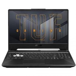Laptop ASUS TUF Gaming F15 FX506HE-HN010, Intel Core i7-11800H, 15.6inch, RAM 8GB, SSD 512GB,  nVidia GeForce RTX 3050 Ti 4GB, No OS, Eclipse Gray