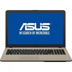 Laptop ASUS VivoBook 15 X540UB-DM548, Intel Core i3-7020U, 15.6inch, RAM 4GB, SSD 256GB, nVidia GeForce MX110 2GB, Endless OS, Chocolate Black