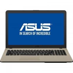 Laptop Asus VivoBook 15 X540UB-DM717, Intel Core i3-7020U, 15.6inch, RAM 4GB, HDD 1TB, nVidia GeForce MX110 2GB, Endless OS, Chocolate Black