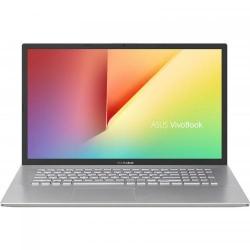 Laptop ASUS VivoBook 17 X712EA-BX078, Intel Core i5-1135G7, 17.3inch, RAM 8GB, SSD 512GB, Intel Iris Xe Graphics, No OS, Transparent Silver