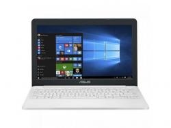 Laptop ASUS VivoBook E12 E203NA-FD115TS, Intel Celeron Dual-Core N3350, 11.6inch, RAM 4GB, eMMC 32GB, Intel HD Graphics 500, Windows 10, Pearl White + Office 365 Personal 1an